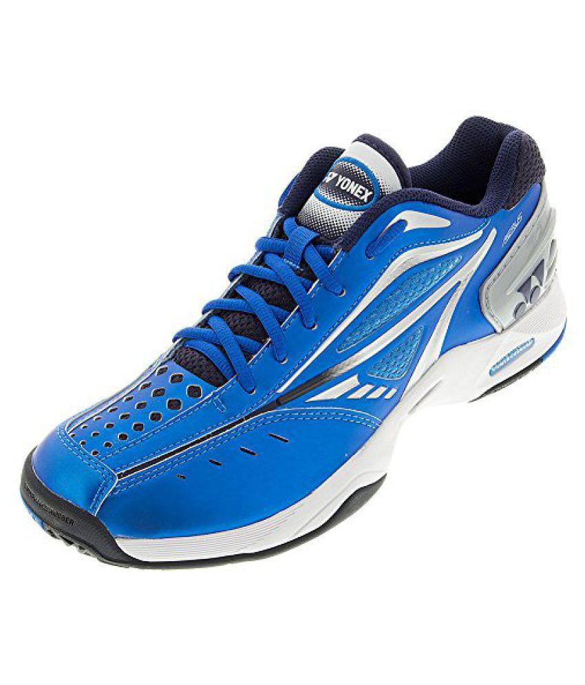 Yonex Men s Power Cushion Aerus Tennis Shoe-Blue