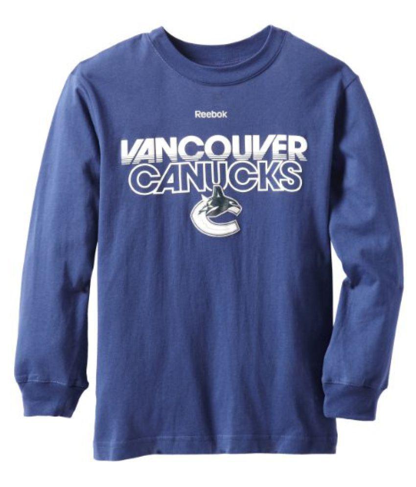 NHL Vancouver Canucks 8-20 Boys TNT L/S Tee