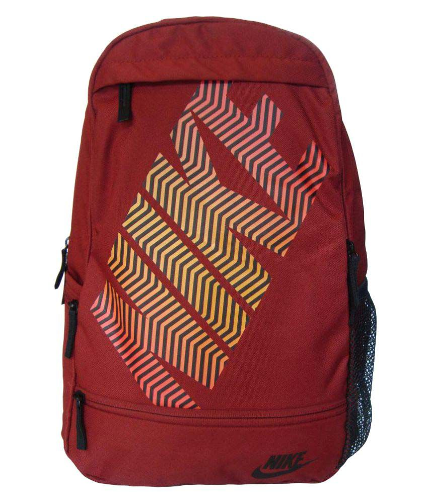 the latest 479eb 13145 Nike Classic Line Maroon Backpack - Buy Nike Classic Line Maroon Backpack  Online at Low Price - Snapdeal