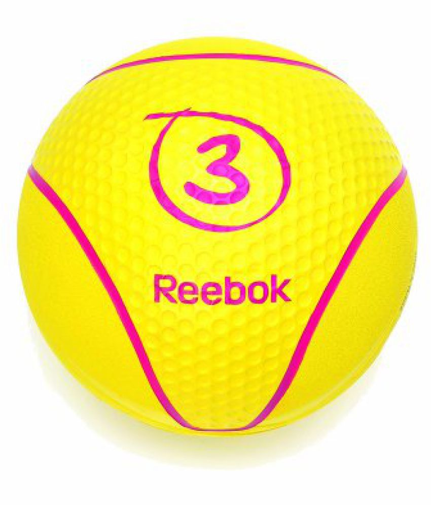 Reebok Medicine Ball 3kg Yellow