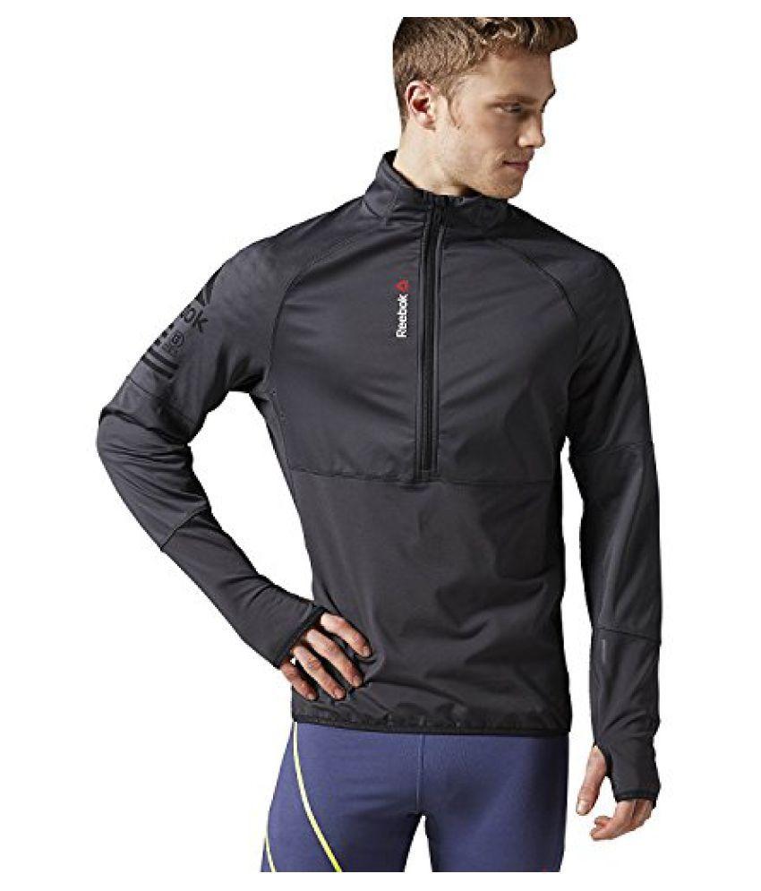 Reebok Men's One Series Hex Thermal Speedwick 1/4 Zip Jacket