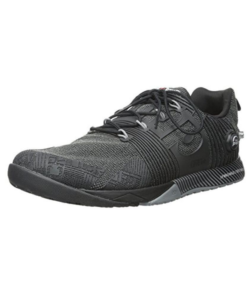 Reebok Men s R Crossfit Nano Pump FS Cross-Trainer Shoe Black/Flat Grey 10 D(M) US