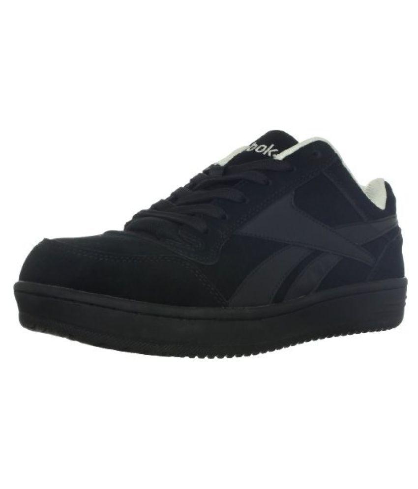 Reebok Men's Soyay RB1910 Safety Shoe,Black Oxford,10.5 M US