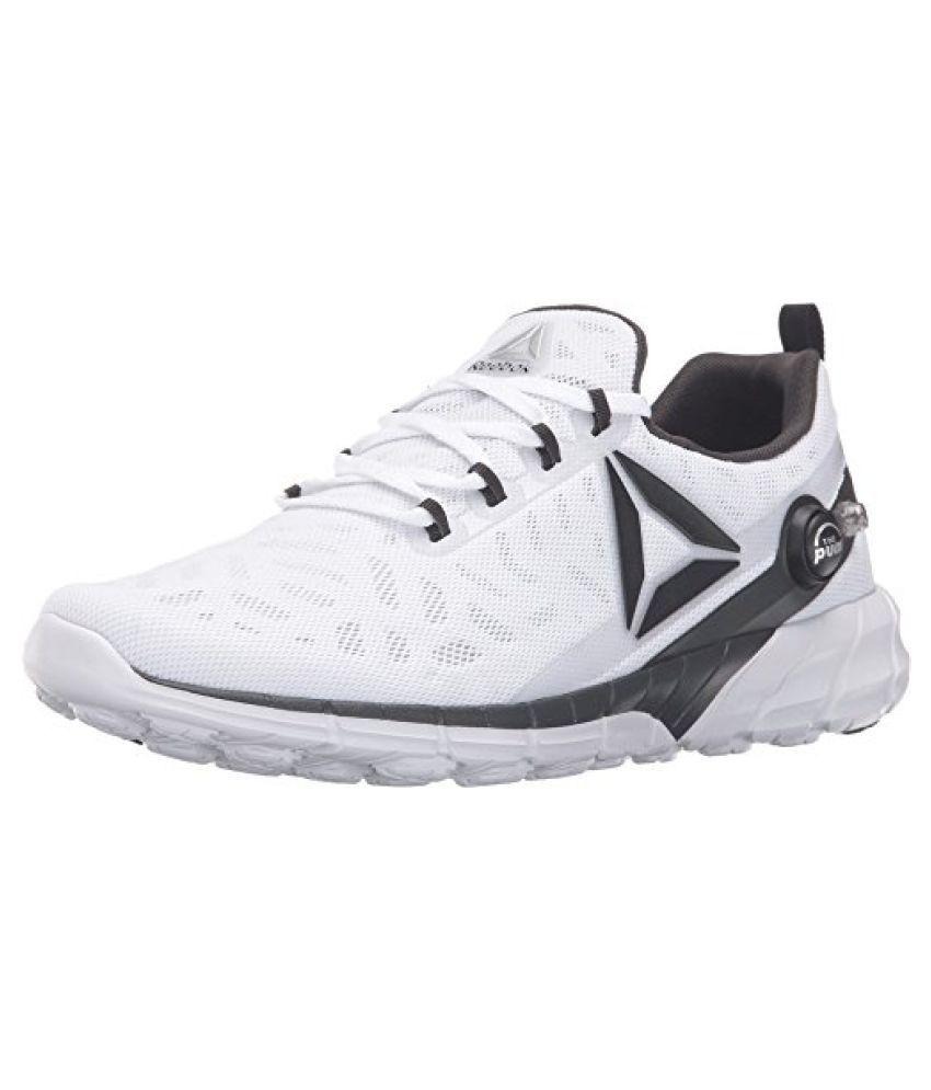 Reebok Men s Zpump Fusion 2.5 Running Shoe White/skull Grey/black/coal/silver Metallic 12.5 D(M) US