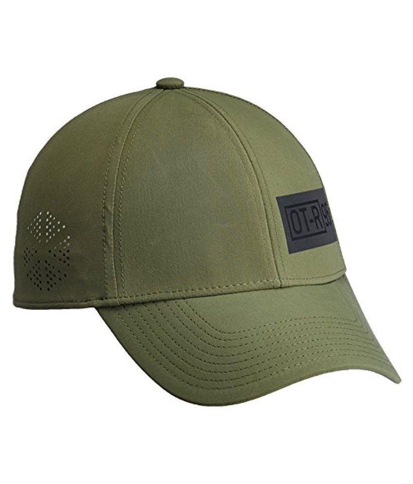 Reebok OTR Aflex Polyester Cap, Men's Small (Green)