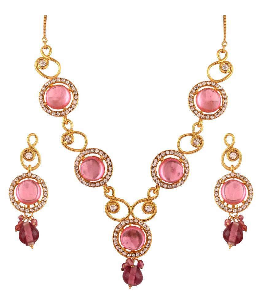Utsavi's Necklace and Earring Set for Women
