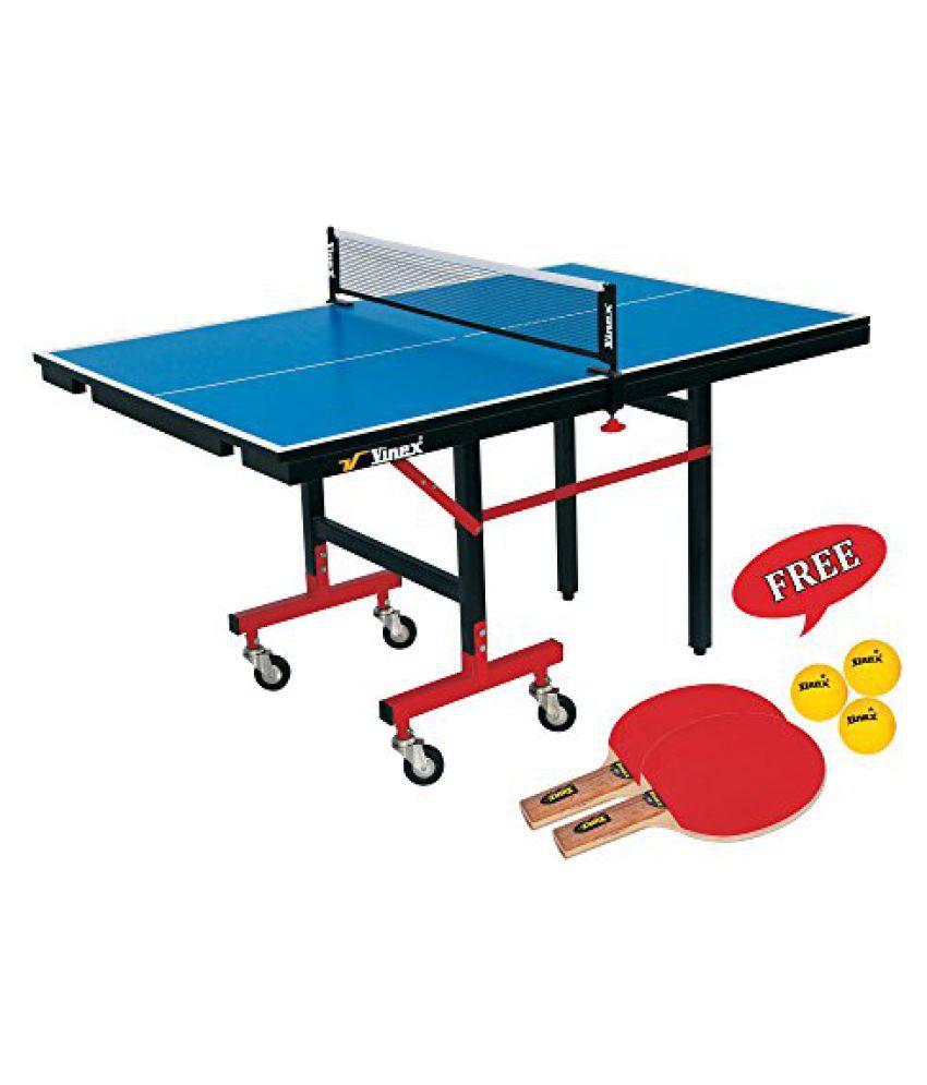 Vinex TT Table Set - Mini Champion (Mini Size, Free TT Bat / Ball Set - Pacer)
