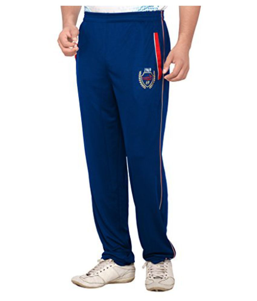 omtex Royal Track Pants 02 for sports and Gym Navy Blue