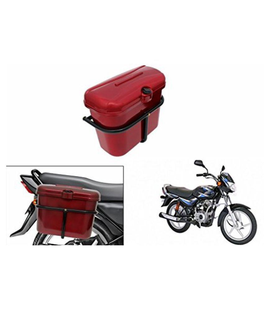Speedwav Bike SLB-1 Side Luggage Box Red-Bajaj CT 100