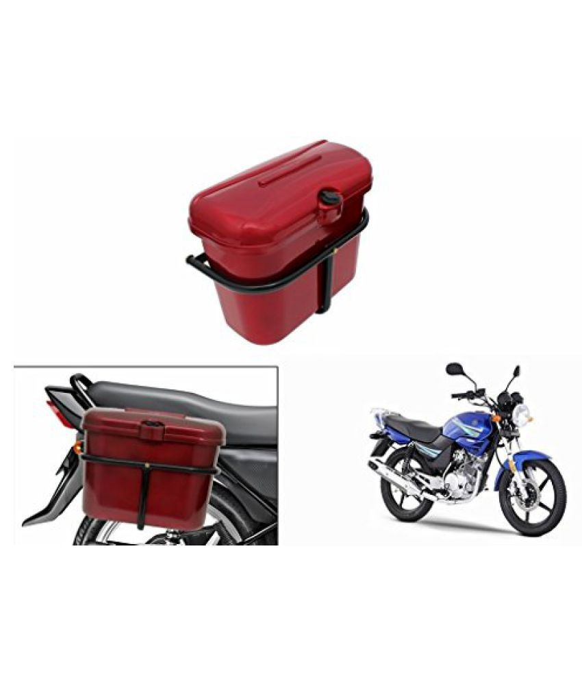 Speedwav Bike SLB-1 Side Luggage Box Red-Yamaha Libero