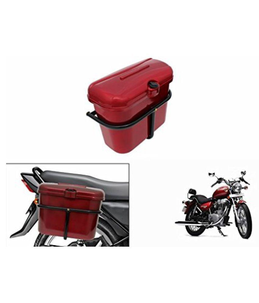 Speedwav Bike SLB-1 Side Luggage Box Red-R Enfield Thunderbird 350 Type 1