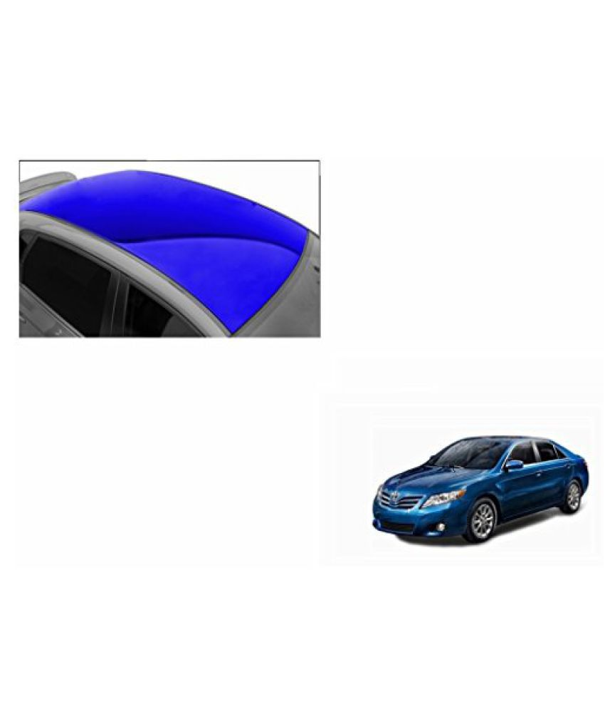 Speedwav Car Roof Glossy Wrap Sheet Blue-Toyota Camry Type 2 (2007-2011)