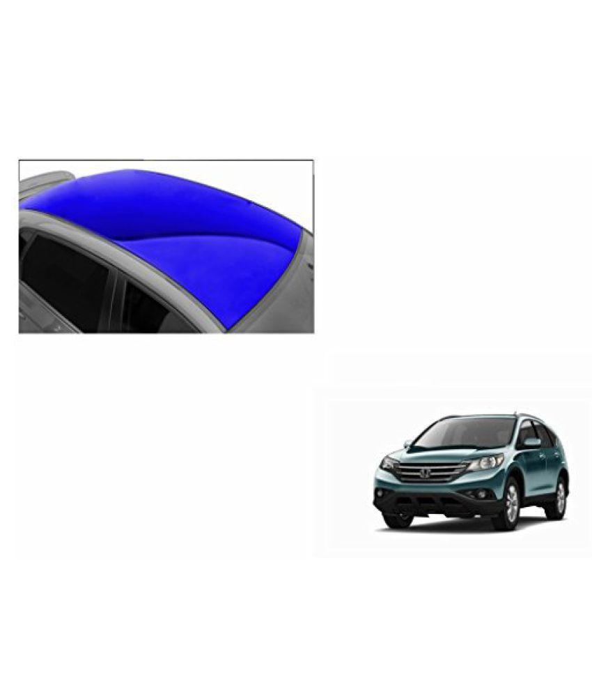 Speedwav Car Roof Glossy Wrap Sheet Blue-Honda CRV Type 4 (2009-2012)