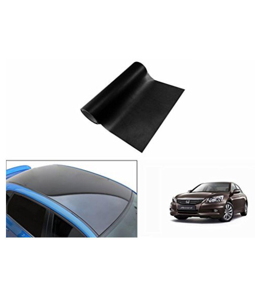 Speedwav Car Roof Wrap Sheet Glossy Black-Honda Accord Type 4 (2012-2015)