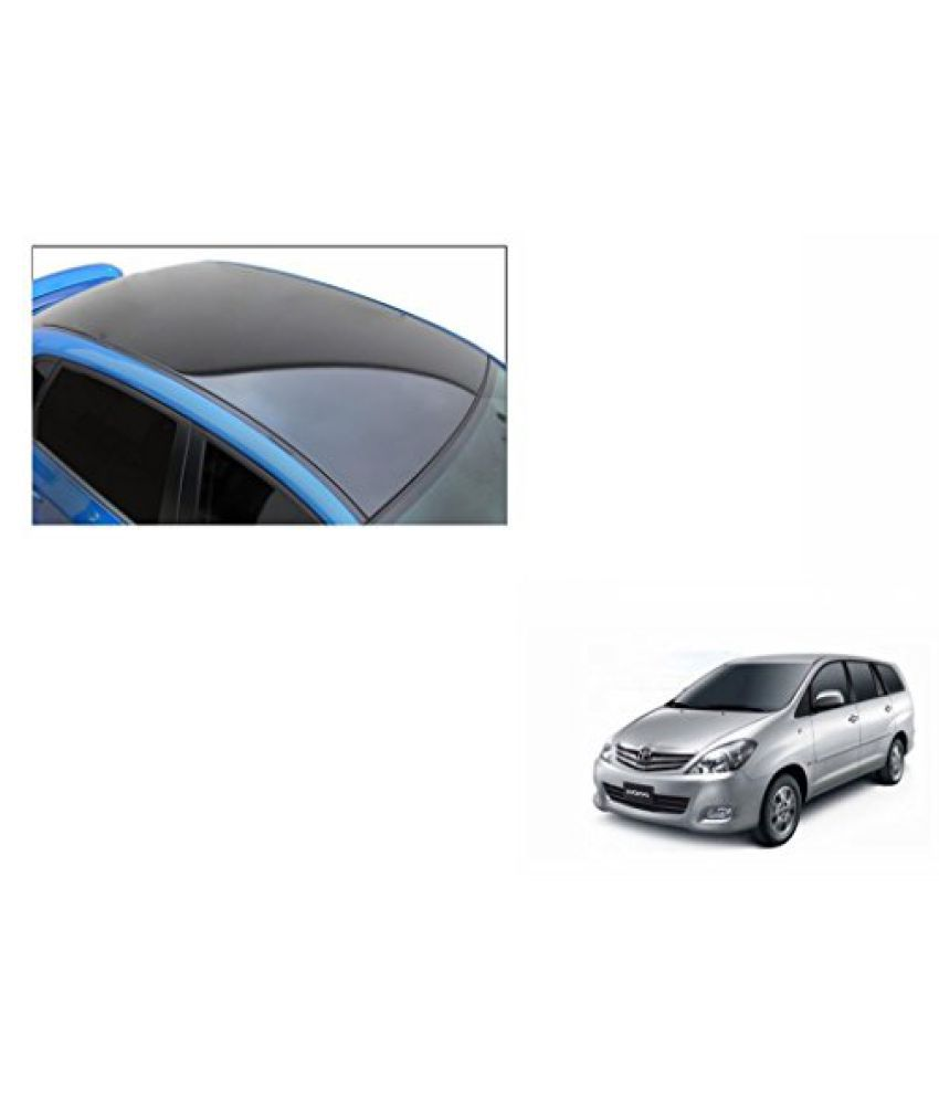 Speedwav Car Roof Wrap Sheet Glossy Black-Toyota Innova Type 1 (2005-2009)