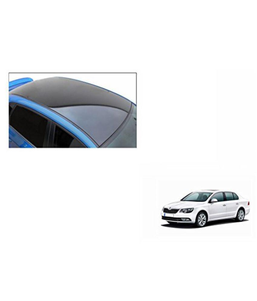 Speedwav Car Roof Wrap Sheet Glossy Black-Skoda Superb Type 2 (2012-2015)