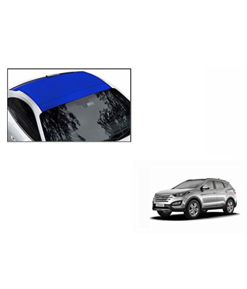 Speedwav Car Roof Wrap Sheet Matt Blue-Hyundai Santa Fe Type 2 (2014-2015)