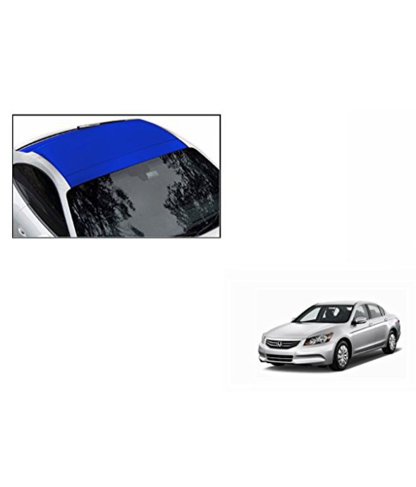 Speedwav Car Roof Wrap Sheet Matt Blue-Honda Accord 2.4 Type 3 (2009-2011)