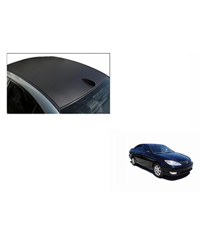 Speedwav Car Roof Wrap Sheet Carbon Design Matt Black-Toyota Camry Type 1 (2002-2006)