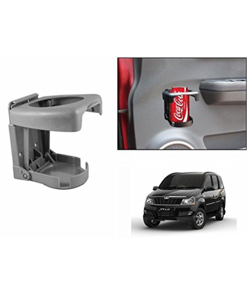 Speedwav Foldable Car Drink Holder Grey-Mahindra Xylo Type 2 (2009-2015)
