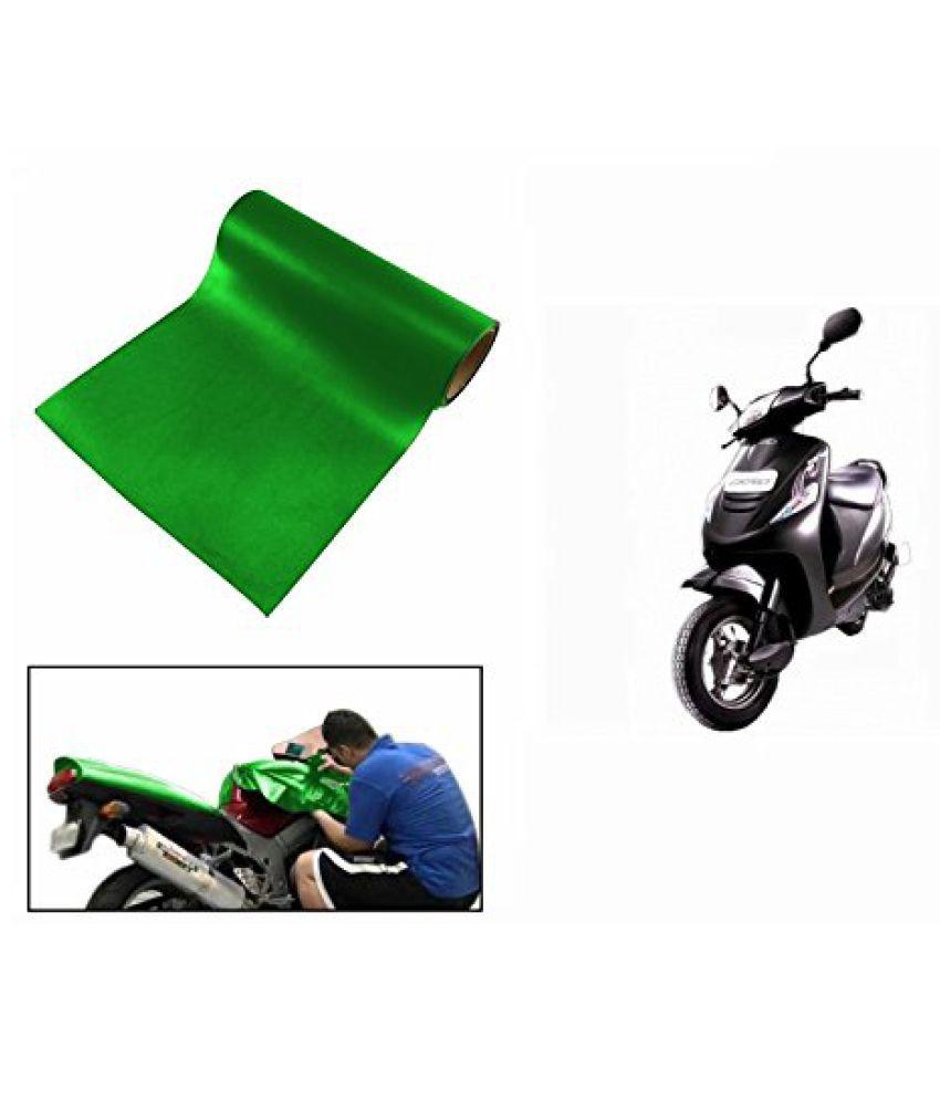 Speedwav Matt Green 3 Meter Scooter Wrap Sheet-Mahindra Kine