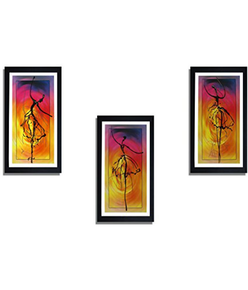 SAF Special Effect Textured Abstract Art Painting (SANFO269, 15 cm x 3 cm x 38 cm)