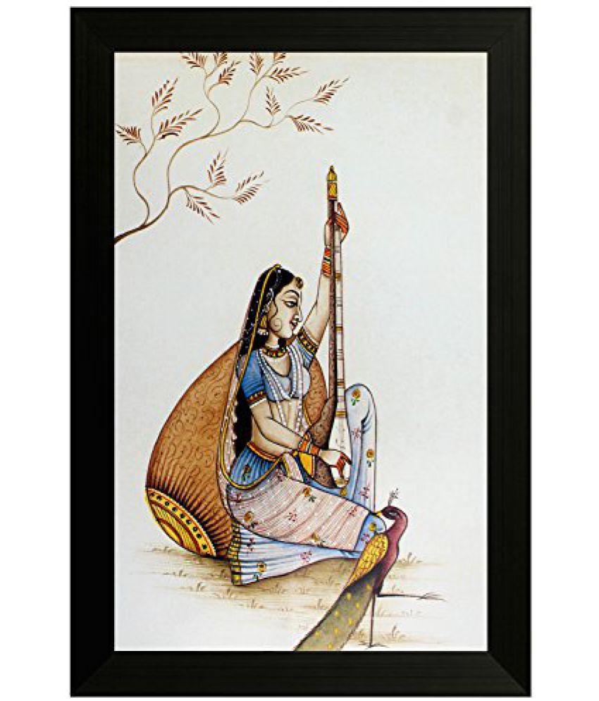 SAF Traditional Art Painting (SANFO03, 20 cm x 3 cm x 30 cm)