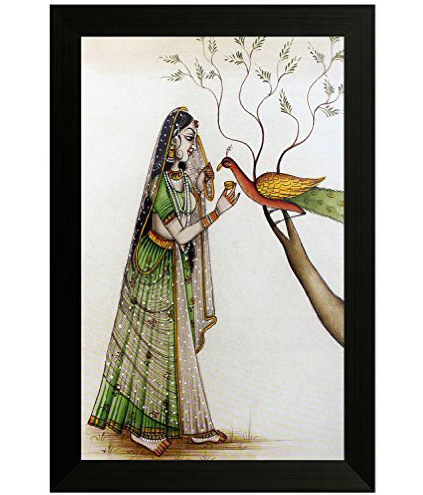 SAF Traditional Art Painting (SANFO11, 20 cm x 3 cm x 30 cm)