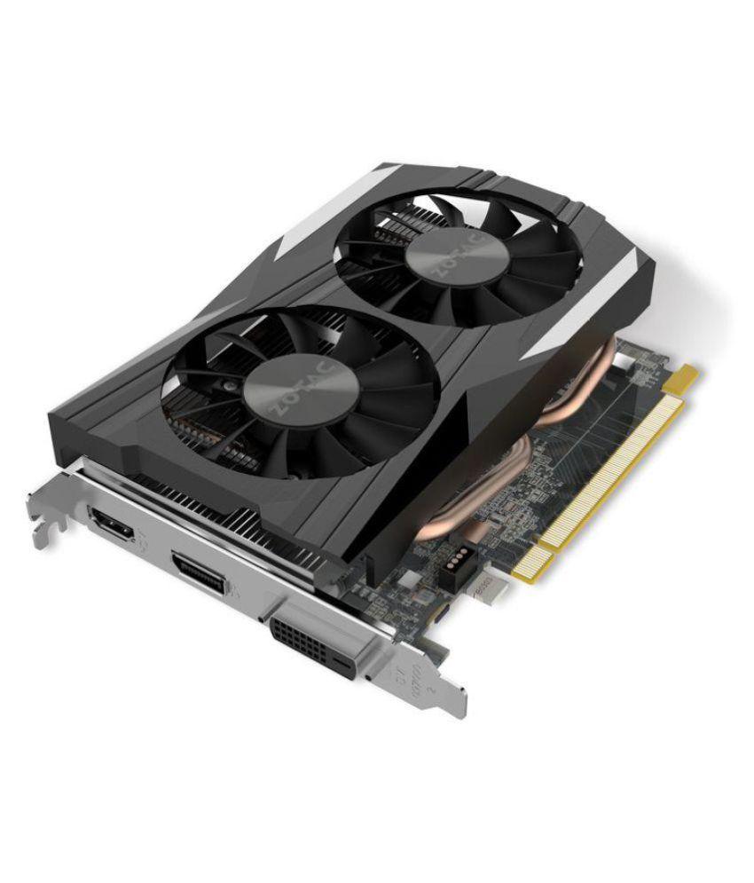 Zotac NVIDIA GTX 1050 Ti 4 GB DDR5 Graphics card