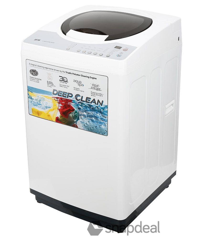 IFB 6.5 Kg TL- RDW Aqua Fully Automatic Top Load Washing ...