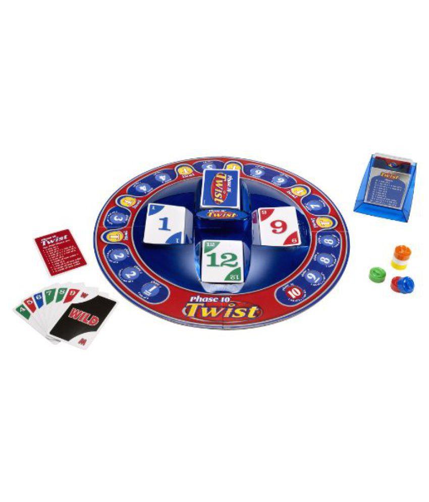 Mattel Phase 10 Twist Card Game