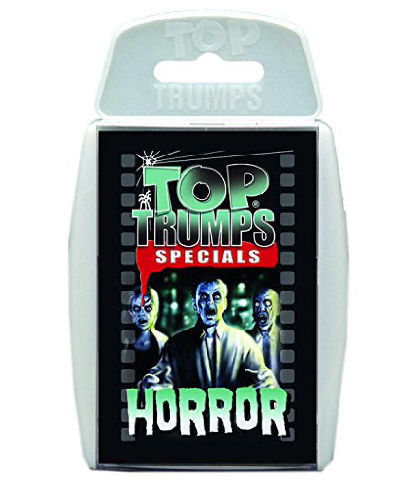 Winning Moves Top Trumps Horror Card Game