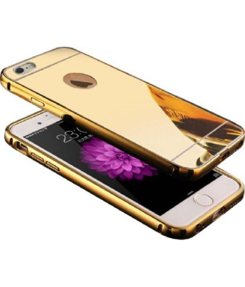 Apple iPhone 5 Mirror Back Covers Kosher Traders - Golden