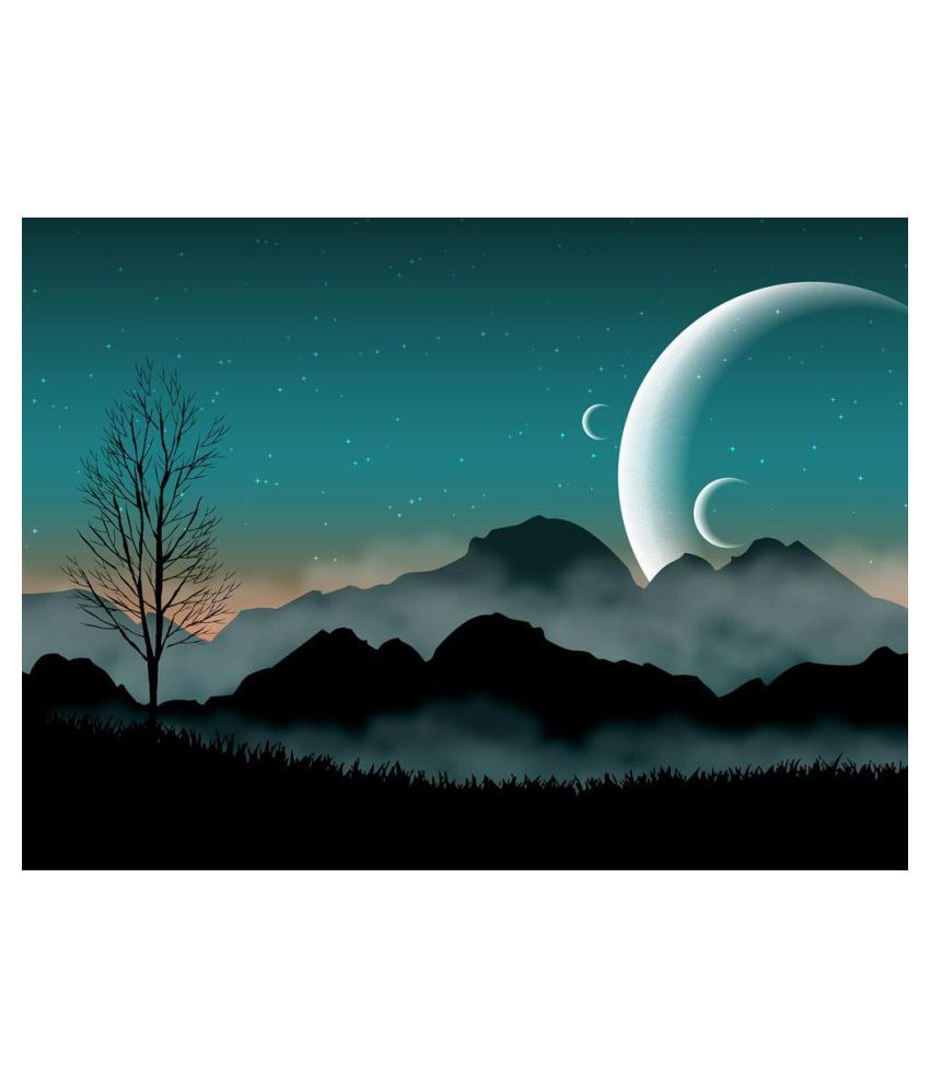 Pitaara Box Canvas Painting Without Frame Single Piece
