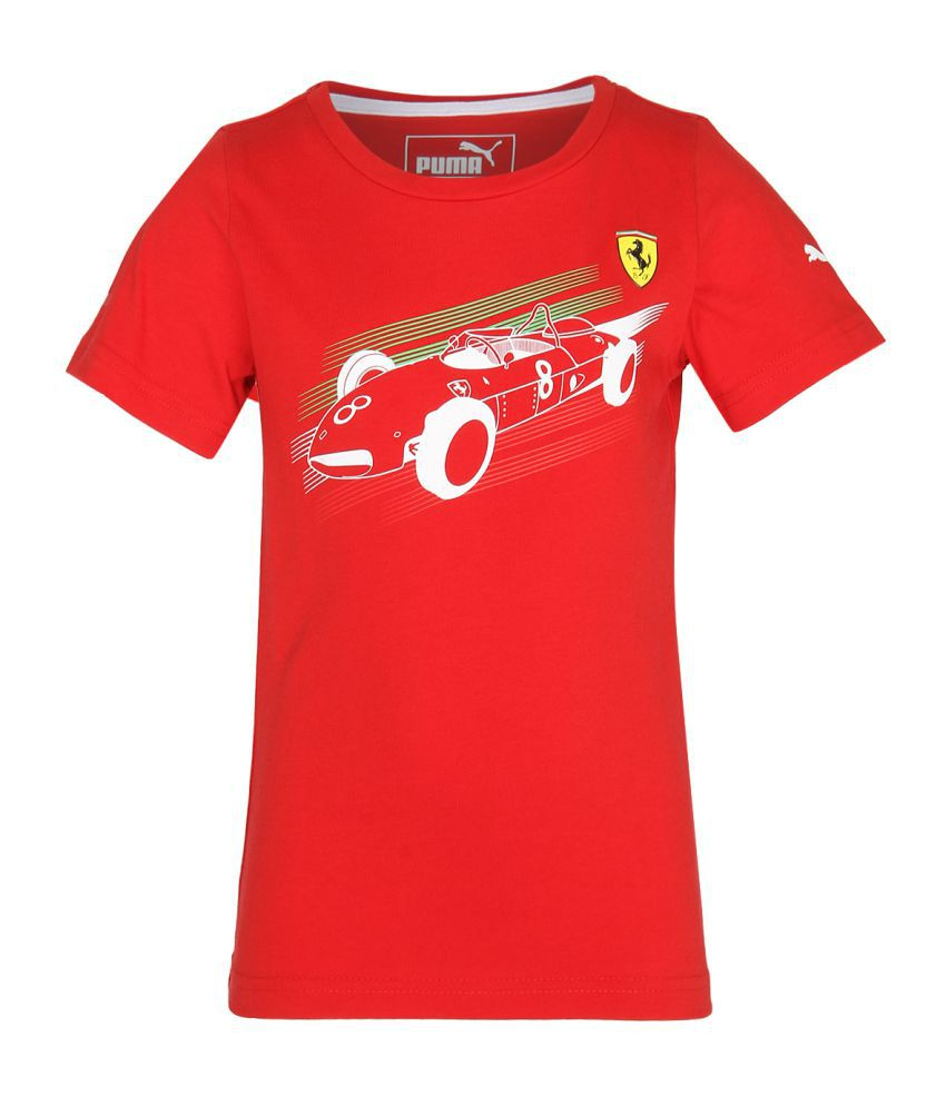 Puma B T shirts amp  Polos Red available at SnapDeal for Rs.535 f9e5765d2e3e1