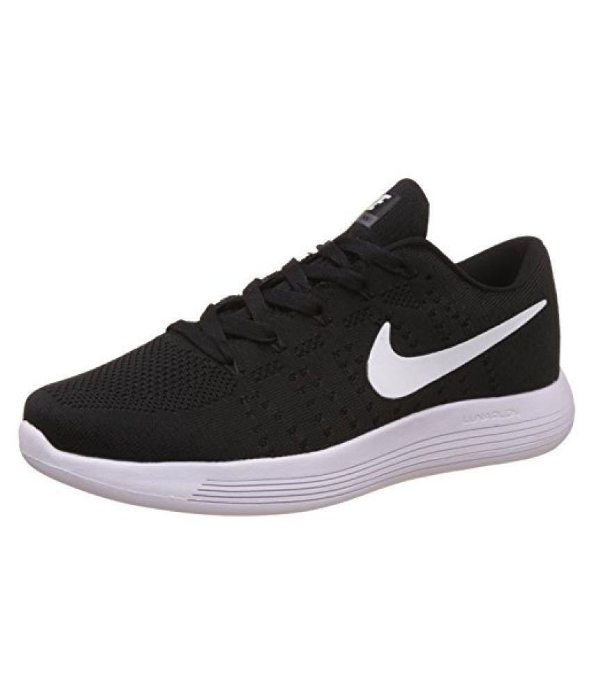 watch 395b7 bf568 Nike Men's Lunarglide 8 Black Running Shoes - 8.5 UK/India ...