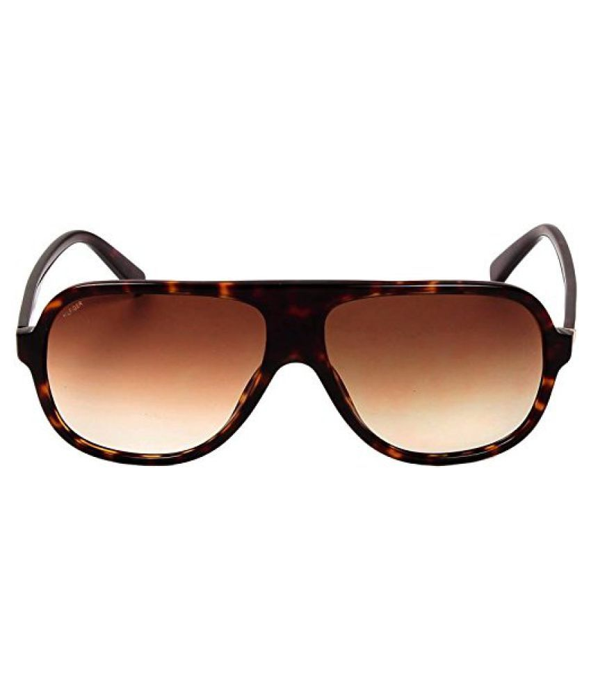Tommy Hilfiger Brown Rectangle Sunglasses ( (7957 C1 60 S|60|Green Color) )