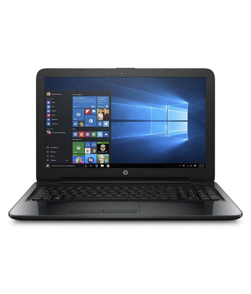 HP 15-bg007au Notebook ( AMD APU A6- 4GB RAM- 500GB HDD- 39.62cm(15.6)- Windows 10) (Black)