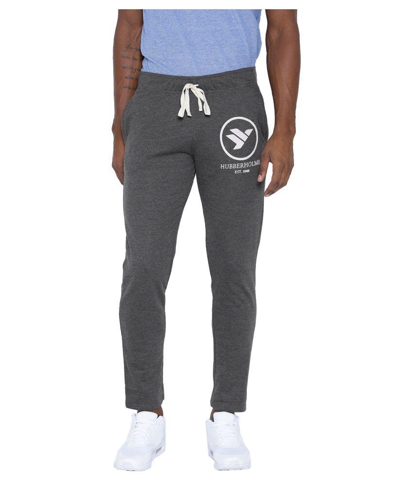 Hubberholme Grey Cotton Trackpants