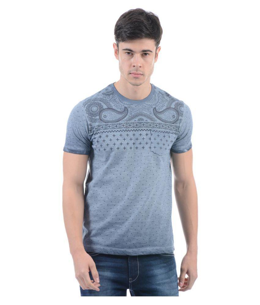 Monte Carlo Grey Round T-Shirt
