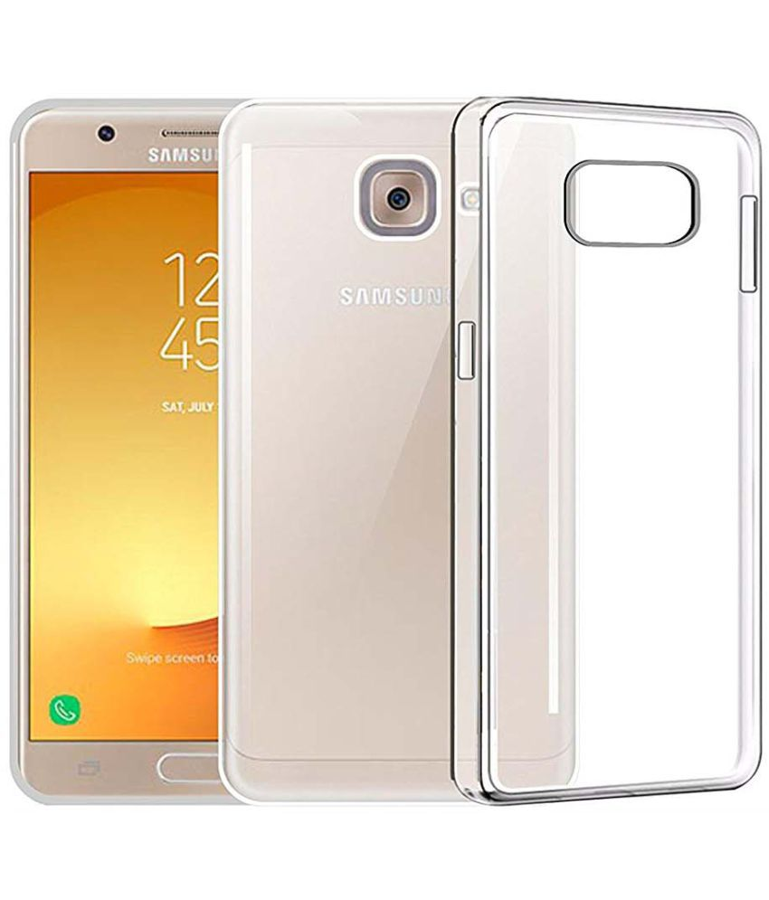 Samsung Galaxy J7 Max Plain Cases Tecozo - Transparent - Plain Back Covers Online at Low Prices | Snapdeal India