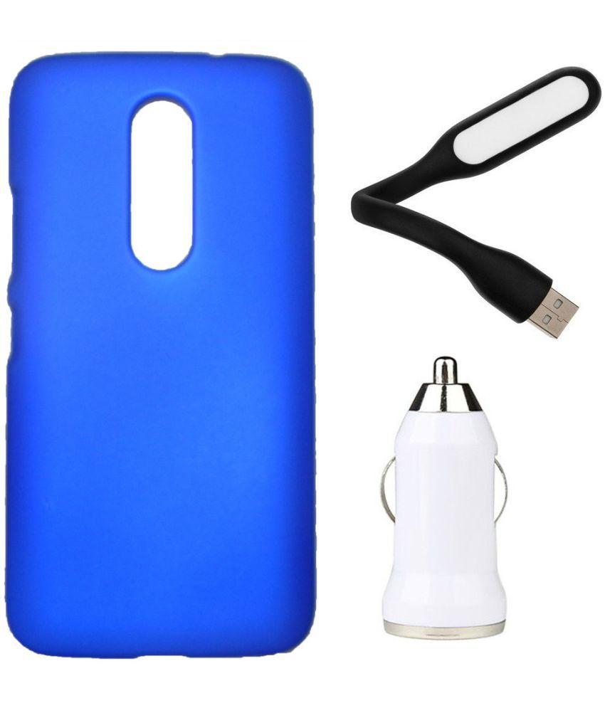 Motorola Moto M Plain Cases Toppings - Blue