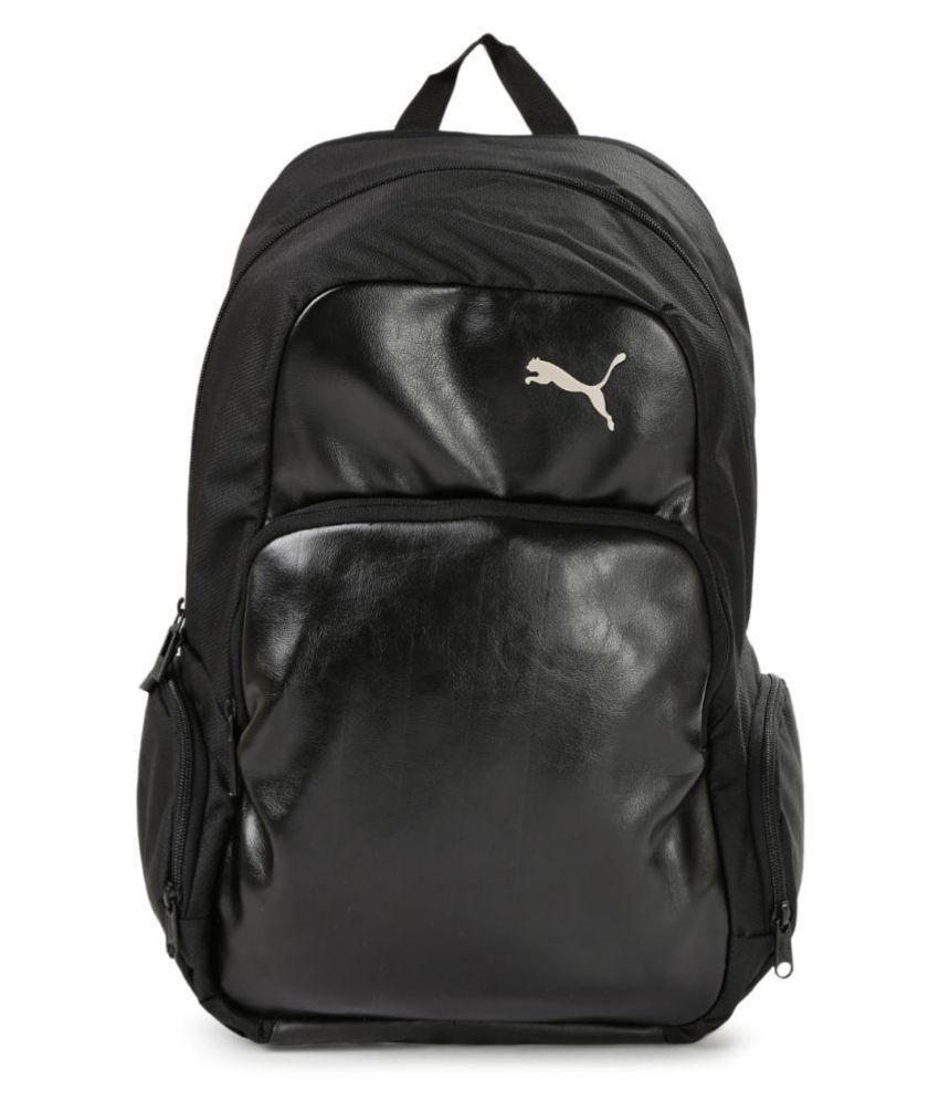 Puma Black Elite Backpack - Buy Puma Black Elite Backpack Online at Low  Price - Snapdeal 218b217b1c141