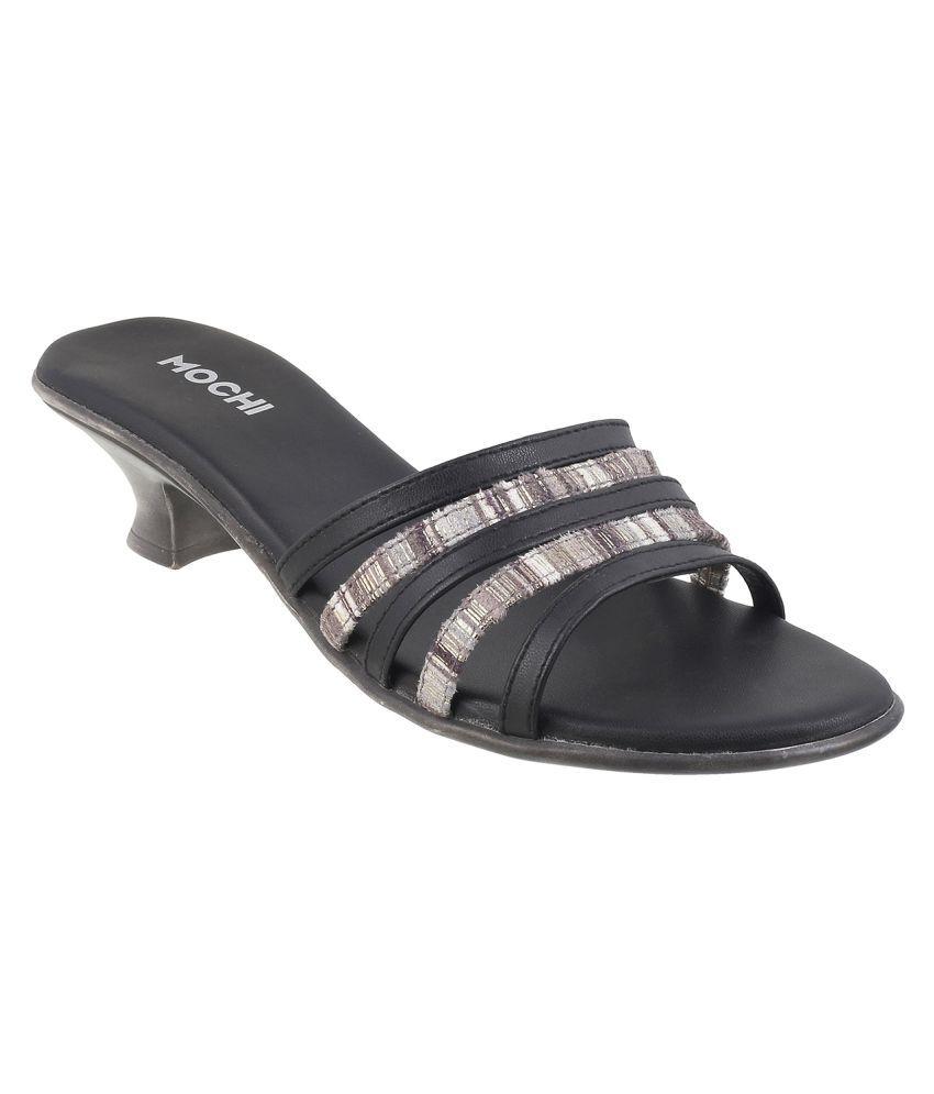 MOCHI BLACK BLOCK Heels