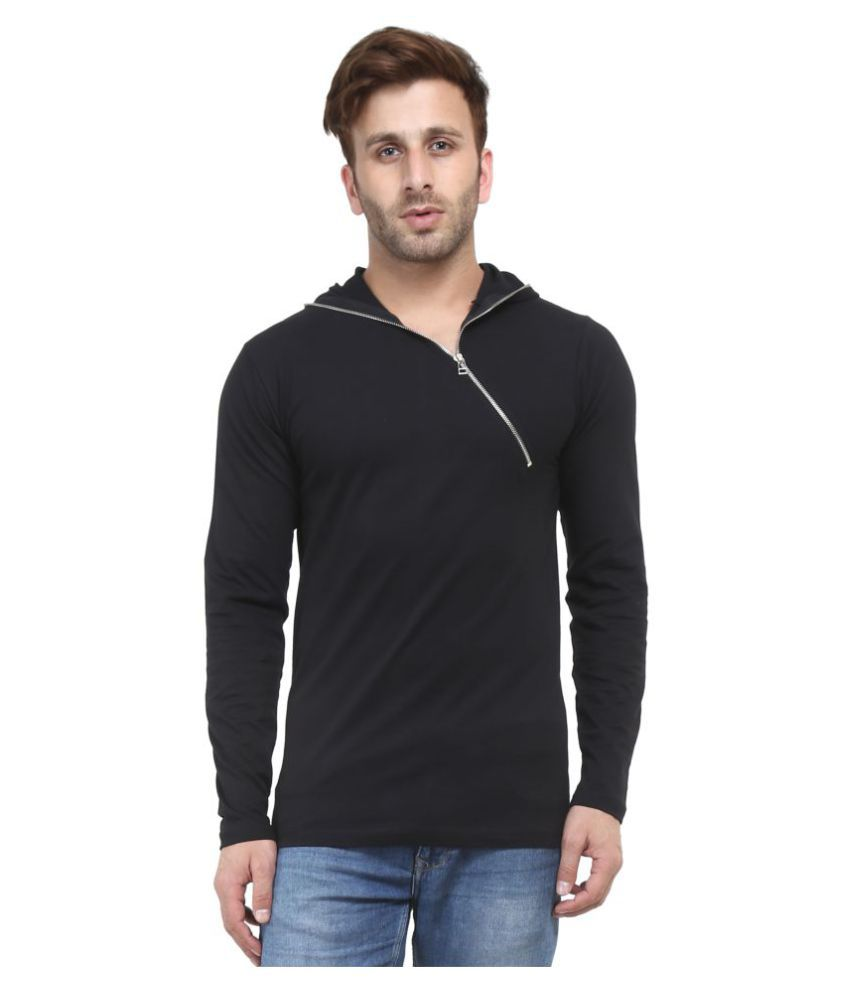 Acomharc Inc Black Hooded T-Shirt