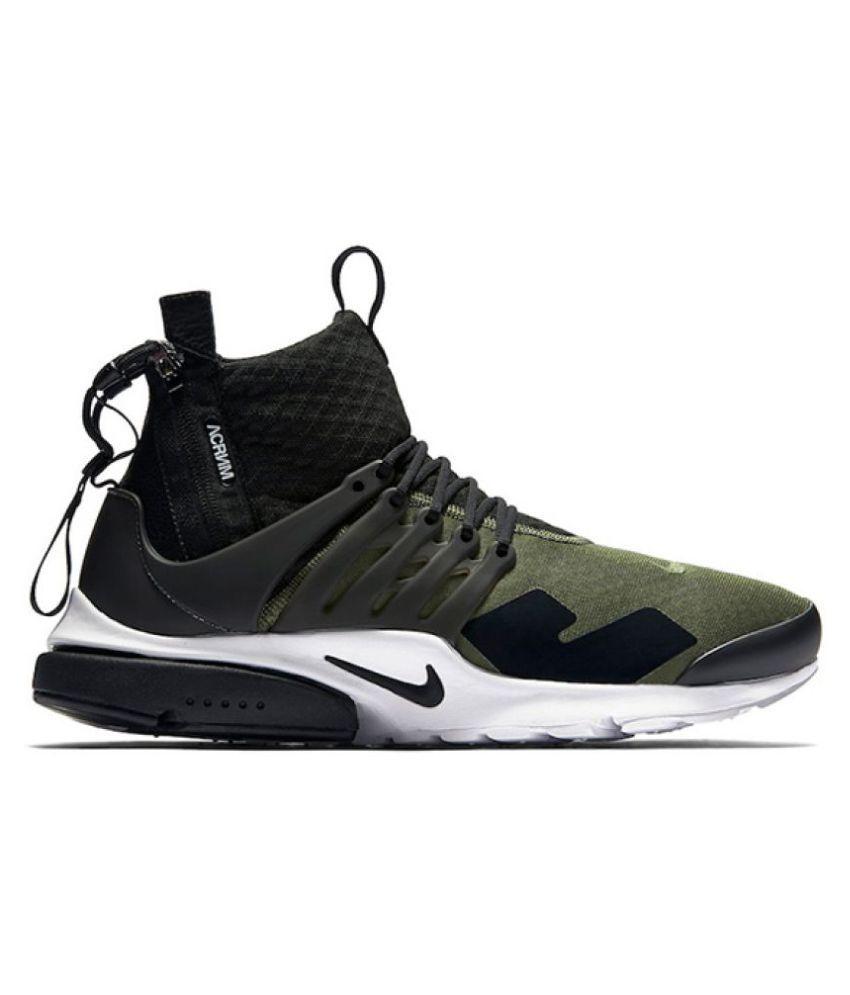 641c292135fd Nike ACRONYM Presto Khaki Training Shoes Nike ACRONYM Presto Khaki Training  Shoes ...