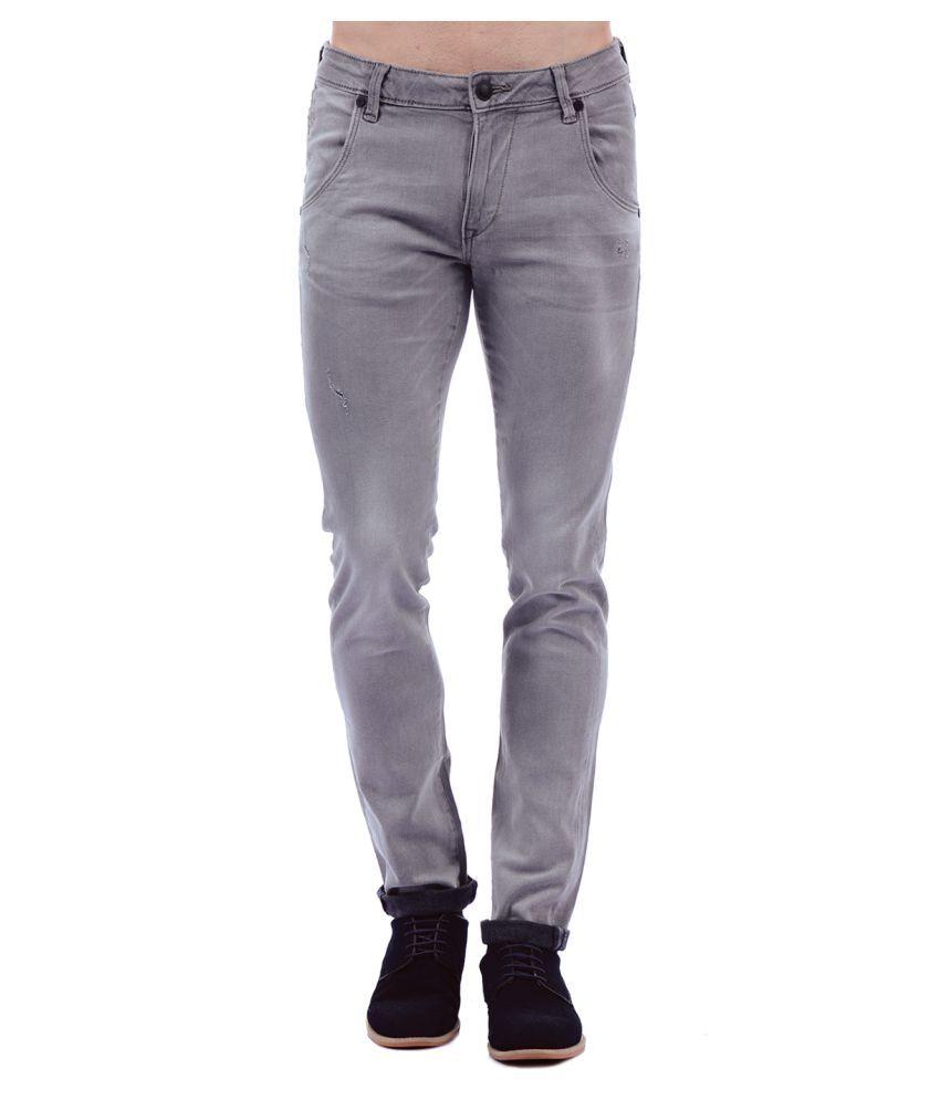 Ed Hardy Grey Skinny Jeans