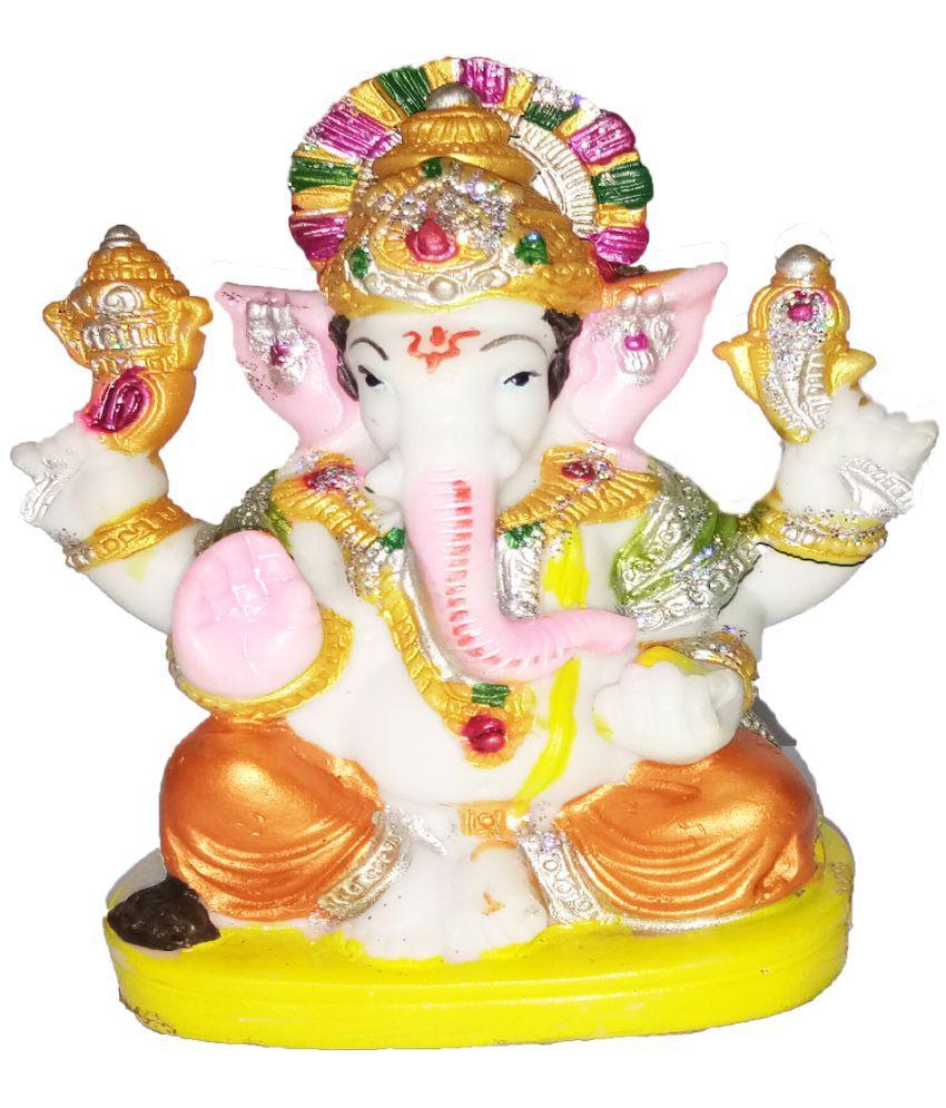 Creativity Aat Ganesha Polyresin Idol