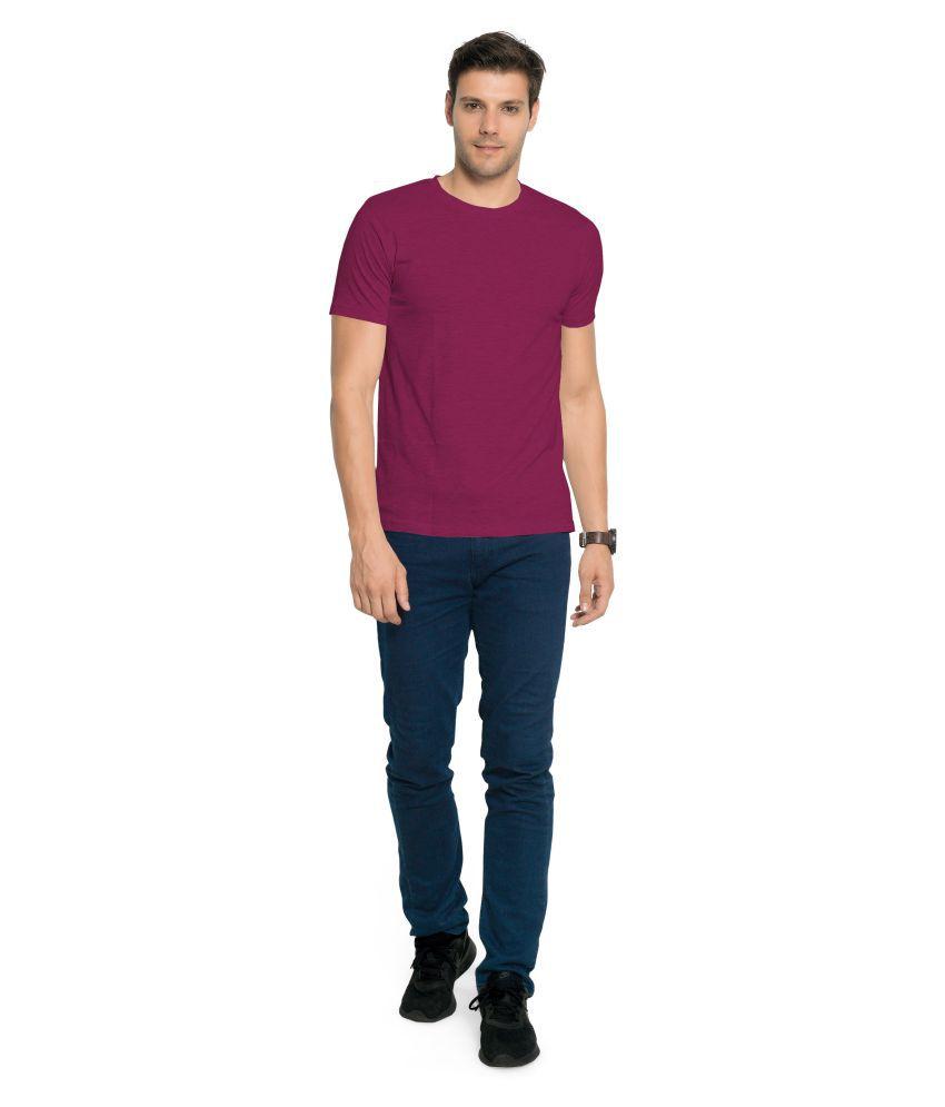 Zorchee Red Round T-Shirt