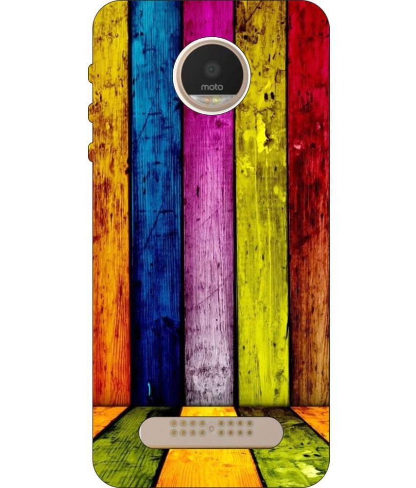 Moto Z2 Play Printed Cover By Go Hooked